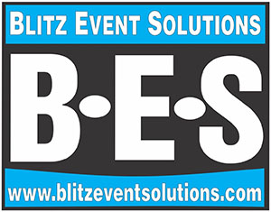 Blitz Event solutions logo, Crewe Cheshire